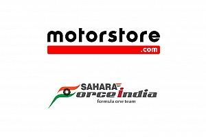 Motorstore.com оголошує про партнерство з Sahara Force India
