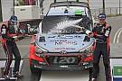 WRC Hyundai hails Paddon's