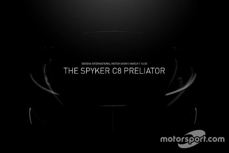 Teaser: Spyker neemt C8 Preliator mee naar Autosalon Genève