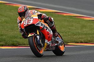 MotoGP Breaking news Marquez's winning MotoGP bike rebuilt in under two hours