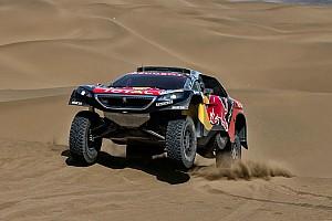 Ралли-рейды Отчет об этапе Пилоты Peugeot Total одержали тройную победу на девятом этапе