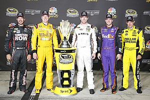 NASCAR Sprint Cup Interview Truex named the pre-Chase favorite by Kyle Busch