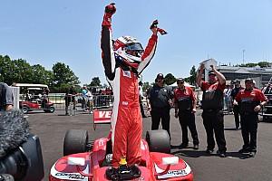 """IndyCar Важливі новини Віч """"абсолютно готовий до IndyCar"""", каже керівник команди в Lights"""