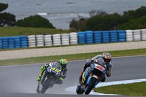 MotoGP Practice report Australian MotoGP: Rain cuts second practice short