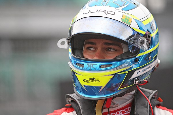 """IndyCar Breaking news Coyne signs """"very impressive"""" Enerson to race deal"""