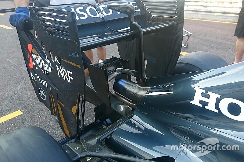 Bite-size tech: McLaren MP4-31 monkey seat