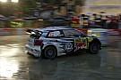 WRC Catalunya WRC: Ogier leads in heavy rain, Meeke rolls