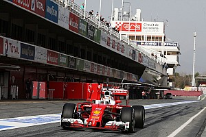 Formula 1 Testing report Vettel begins shaking down the SF16-H