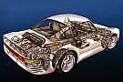Automotive Cutaway classic: Explore the amazing Porsche 959