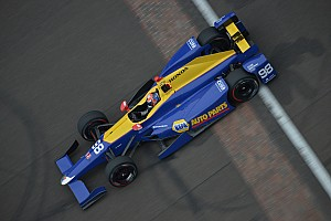 IndyCar Practice report Rossi leads practice for those outside the Fast 9