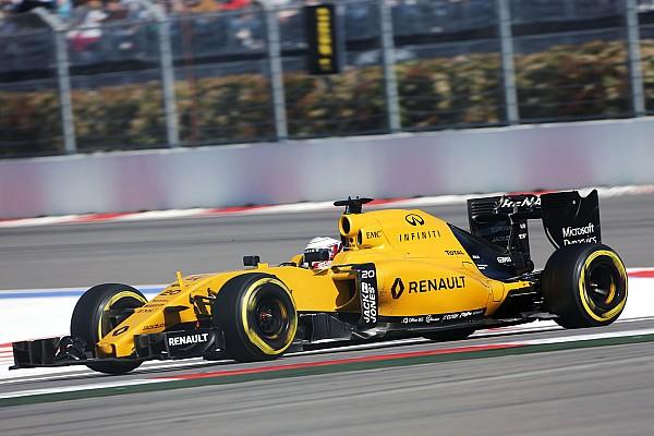 Formula 1 First points for Renault team after F1 return
