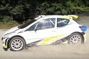 World Rallycross Ultime notizie Video, primi passi per la rallycar elettrica di Manfred Stohl