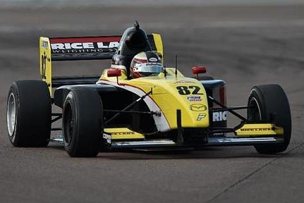 Pro Mazda Race report Telitz ties championship lead with fifth win