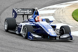 Indy Lights Qualifying report Ed Jones takes Indy Lights pole at Barber