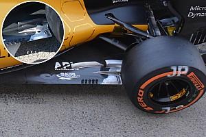 Formula 1 Analysis Bite-size tech: Renault RS16 floor