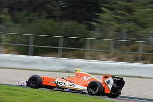 Formula V8 3.5 Qualifying report Catalunya F3.5: Dillmann takes pole by 0.02s in wet qualifying