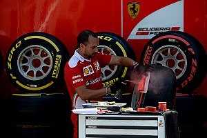 Formula 1 Breaking news German GP tyre selections: Ferrari goes softer again