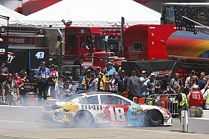NASCAR Sprint Cup Breaking news Kyle Busch's day ends in a