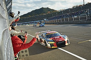 スーパーGT プレスリリース 【Audi press center】藤井誠暢「アウディでどうしても勝ちたかった。本当に嬉しい」