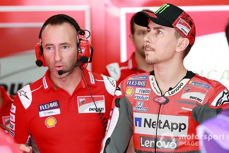 """Lorenzo pilotera dimanche et veut """"un dernier cadeau"""" pour Ducati"""