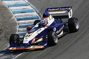Pro Mazda Race report Title contenders' first-lap clash hands win to Dapero