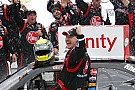 McDowell takes first NASCAR national level win after nine years of trying