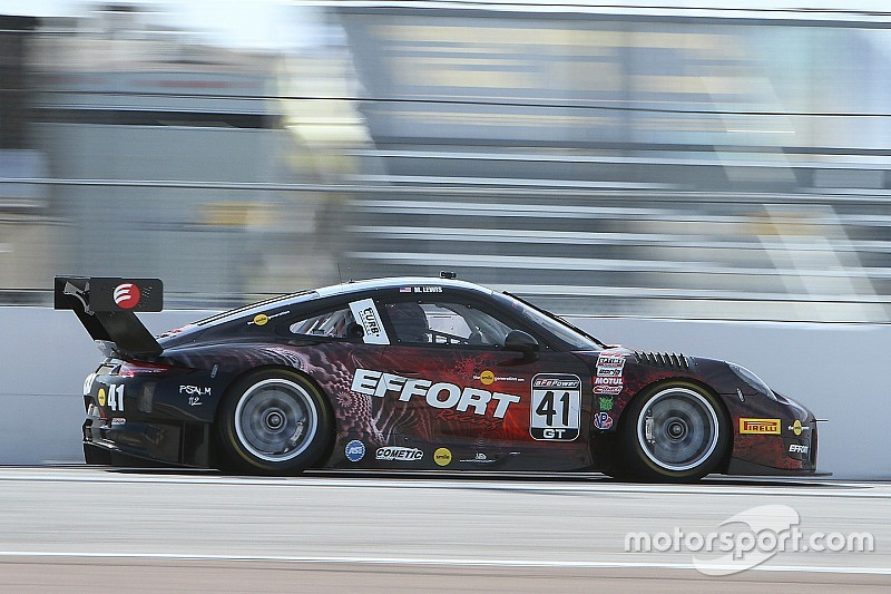Lewis goes flag to flag for maiden GT win at St Petersburg