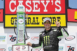 NASCAR XFINITY Race report Hornish takes Iowa Xfinity win in substitute driver role
