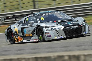 Asian GT Qualifying report Dramatic qualifying session at Shanghai sets up stunning title decider