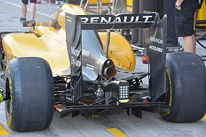 Formula 1 Analysis Bite-size tech: Renault RE16 rear wing and cooling changes
