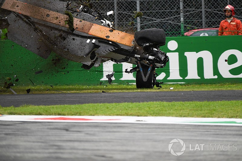 Ericsson protagonizó un espectacular accidente en Monza - Fórmula 1 Noticias
