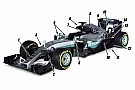 Tech analysis: The 15 key changes on the Mercedes W07