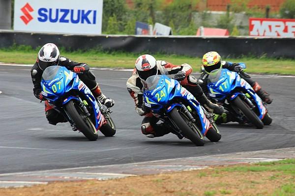 Other bike Race report Chennai II Suzuki Gixxer: Vidhuraj supreme with two wins