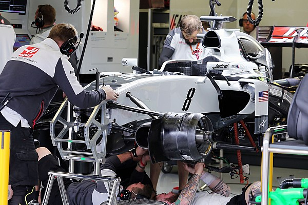 Formula 1 Breaking news Brake ducts blamed for Haas being rock bottom in FP2