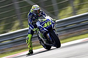 """MotoGP Breaking news Rossi """"closer to the limit"""" on revised Michelin tyres"""