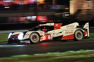Le Mans Race report Le Mans 24 Hours: Toyota in command as darkness falls