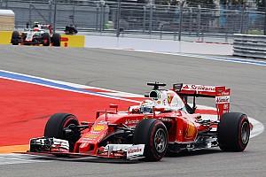 Formula 1 Qualifying report Vettel two places higher than Raikkonen in Sochi