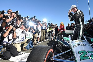 IndyCar Qualifying report Pagenaud draws first blood with Sonoma pole