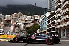 Formula 1 Button in lucky escape after hitting drain cover