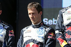 WRC Breaking news Ogier completes first post-season test with Toyota