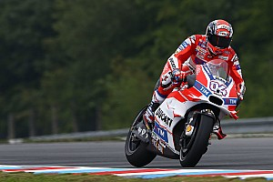 MotoGP Breaking news Dovizioso urges Michelin to fix tyre vibrations after qualifying issue