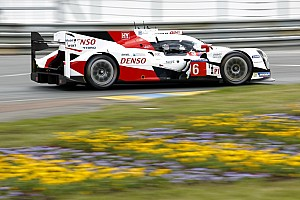 Le Mans Race report Toyota vs. Porsche battle heats up, Corvette crashes out