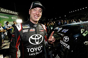 NASCAR Truck Race report Kyle Busch plays spoiler at Chicagoland as Chase field is set