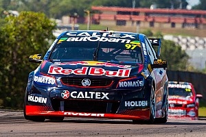 Supercars Qualifying report Darwin V8s: Early lap hands van Gisbergen pole