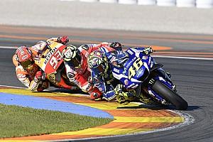 MotoGP 速報ニュース 【MotoGPバレンシアGP】タイヤに苦しんだロッシ。「ハードでレースをしたかった」