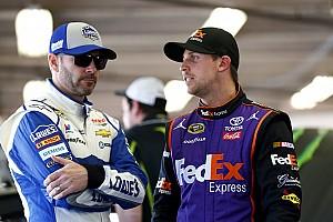 NASCAR Sprint Cup Breaking news Johnson on Hamlin: