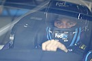 NASCAR Sprint Cup Hamlin sets fastest time in Happy Hour before spinning