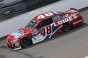 NASCAR Sprint Cup Practice report Busch and Carpentier collide in practice, Johnson quickest