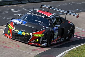 Endurance Race report Audi experiences disappointment in the Eifel