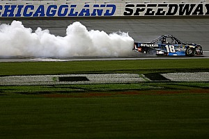 NASCAR Truck Breaking news Kyle Busch's winning truck fails post-race inspection
